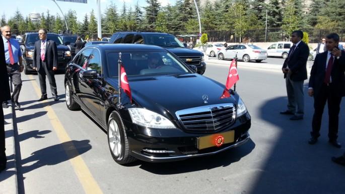 """Türkiyə prezidenti Rəcəb Tayyib Ərdoğan """"Mercedes S600"""" ile ilgili görsel sonucu"""