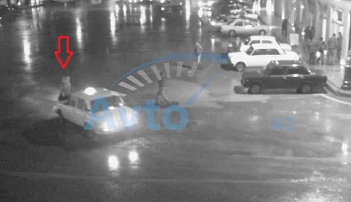 Bakıda daha bir piyadavurma: taksi sürücüsü gənc qızı vurdu