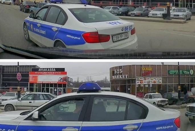 Yol polisi qayda pozuntusuna yol verdi - VİDEO