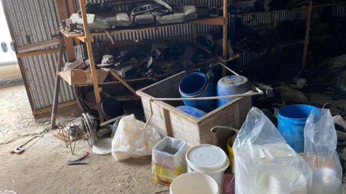 Avtomobil təmiri sexində pendir və yağ istehsal edən müəssisə bağlandı