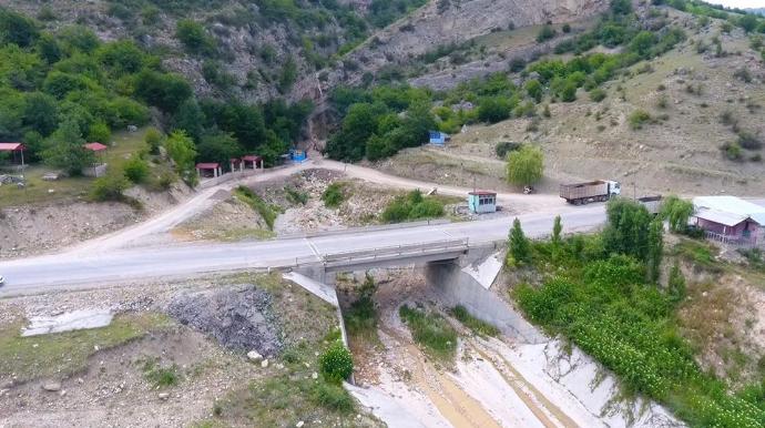 Quba-Qonaqkənd avtomobil yolunun yenidən qurulması yekunlaşır - FOTO