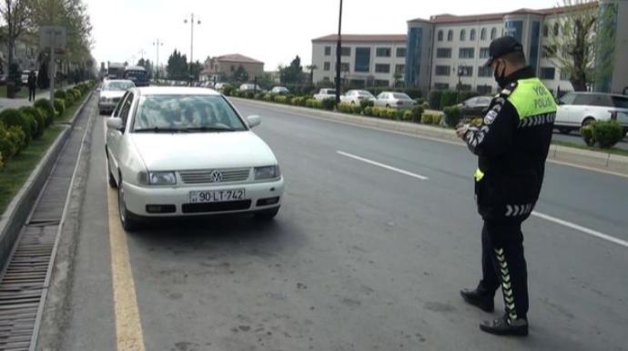 Balakəndə yol polisi qaydaları pozan sürücüləri cərimələdi – FOTO