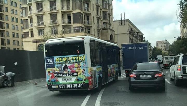 """Əks yola çıxan növbəti avtobus - """"Çinar Trans"""" - FOTO"""