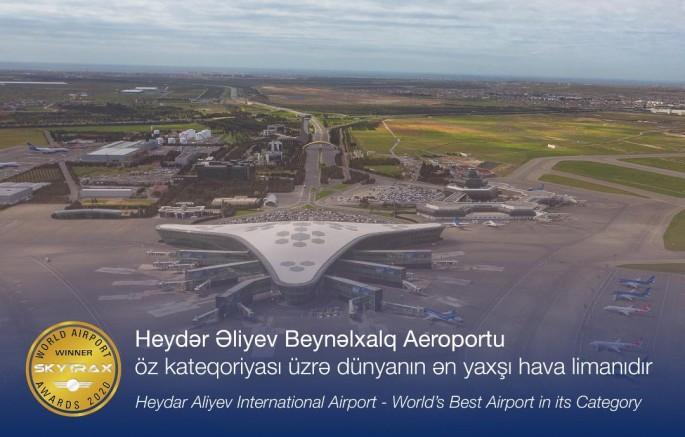 Heydər Əliyev Beynəlxalq Aeroportu dünyanın ən yaxşı hava limanıdır - FOTO