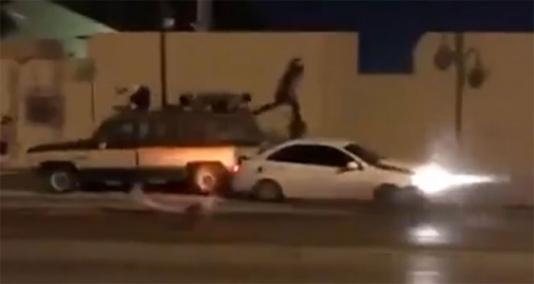 """""""Şou"""" göstərən sürücü iki piyadaya çırpıldı: 1 yaralı - VİDEO"""
