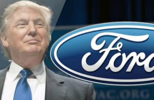 """Tramp """"Ford""""a təşəkkür etdi"""