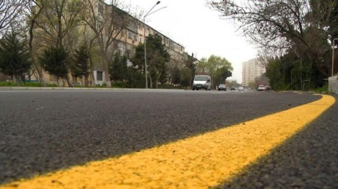 Bakıda ümumi uzunluğu 301,5 km şəhər yolları yenidən qurulub və təmir olunu ...