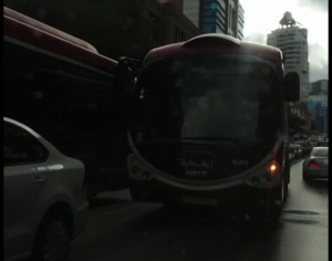 """Baku Bus"" da ""protiv"" getdi - VİDEO"